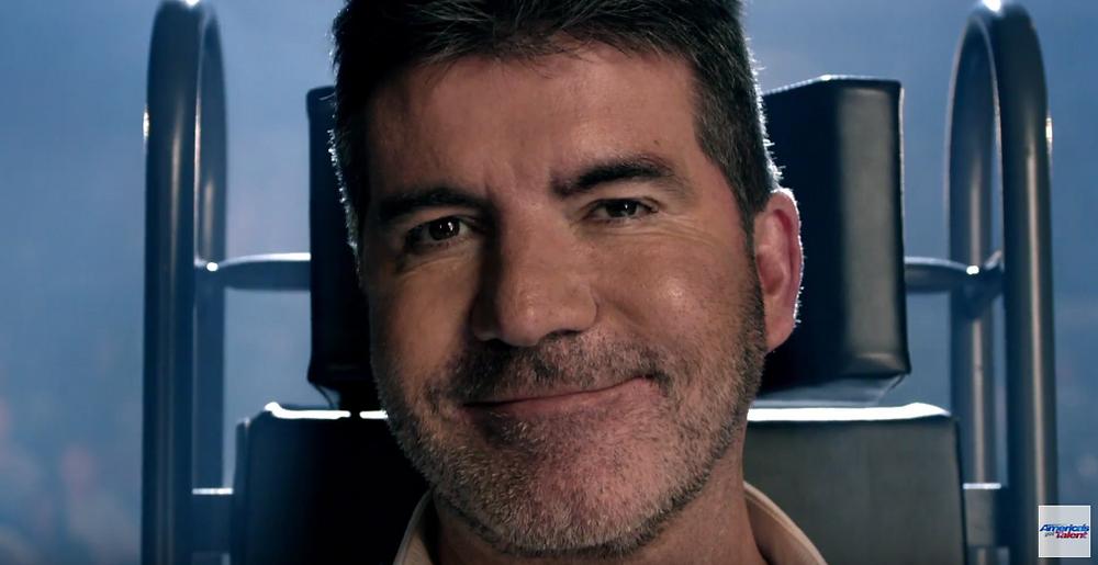 Simon Cowell in AGT promo