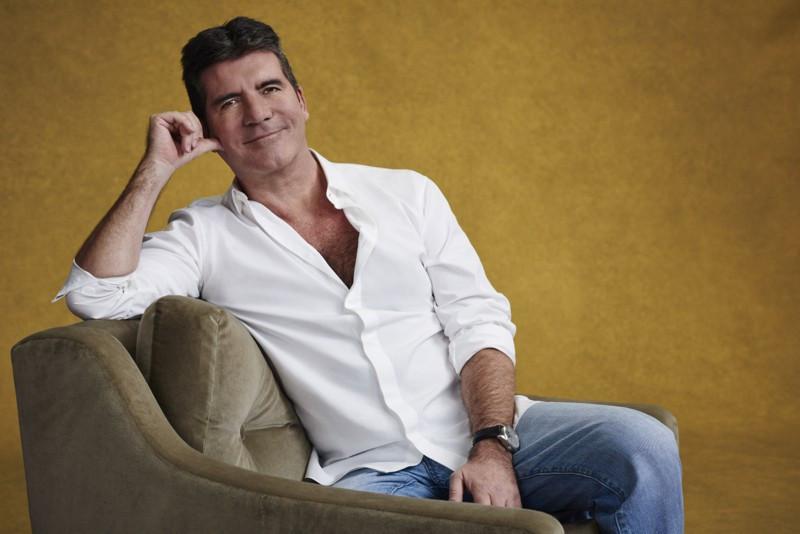 Simon Cowell on X Factor Photo Shoot