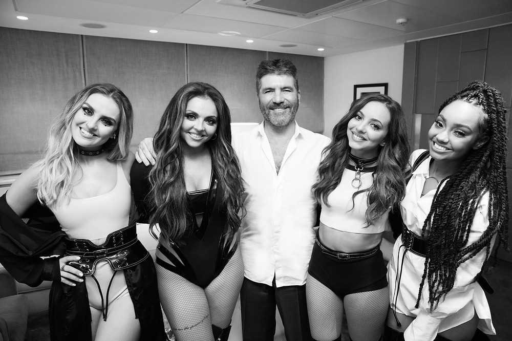 Simon Cowell with Little Mix - Syco Music