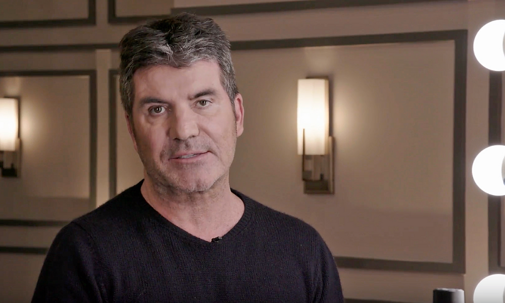 Simon Cowell auditions for Stephen Hawking's new voice