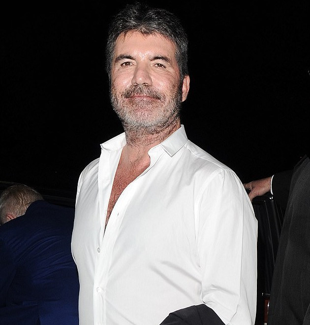Simon Cowell at the Music Industry Awards in London