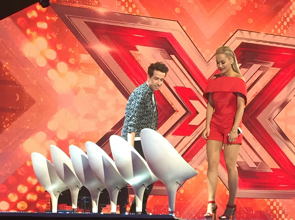 The Chairs - X Factor Six Chair Challenge