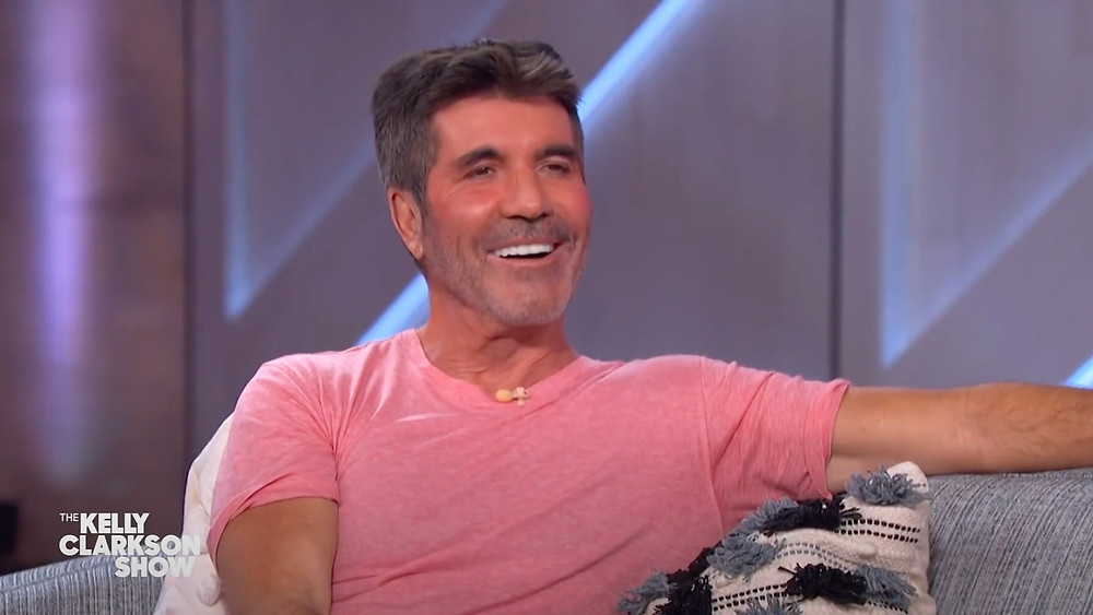 Simon Cowell on the Kelly Clarkson Show