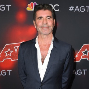 Simon Cowell on the red carpet for America's Got Talent