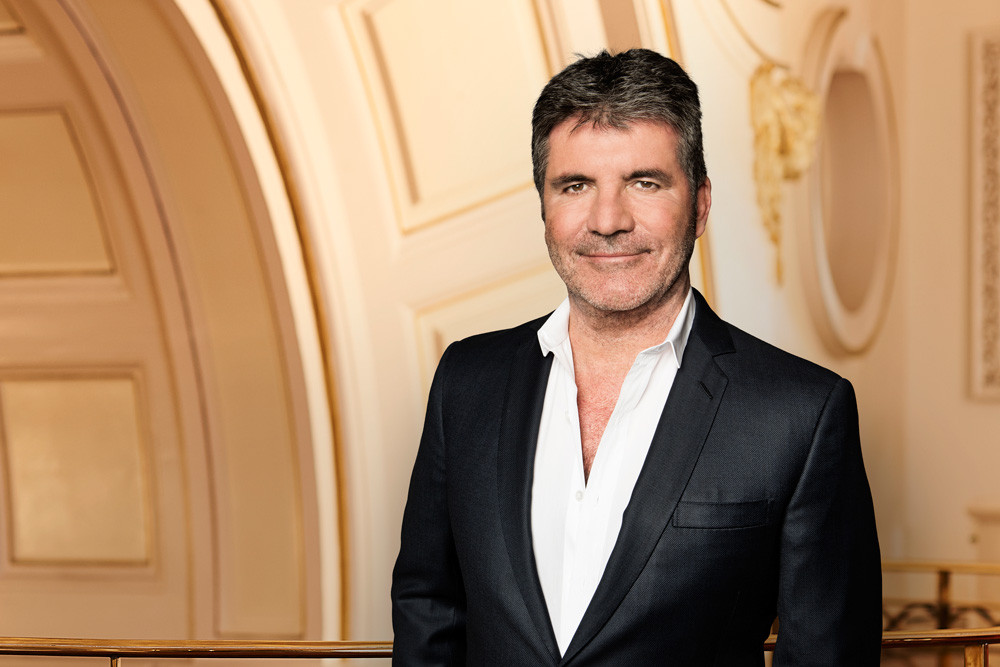 Simon Cowell at the Britain's Got Talent photoshoot at the London Palladium 2018