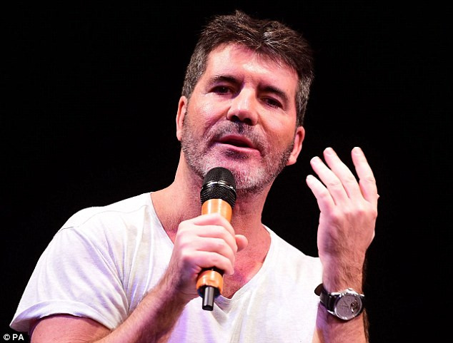 Simon Cowell shares his experiences at the Brit School