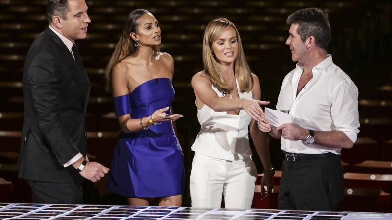 Simon Cowell, Amanda Holden, Alesha Dixon and David Walliams decide who goes through to the Britain's Got Talent live shows