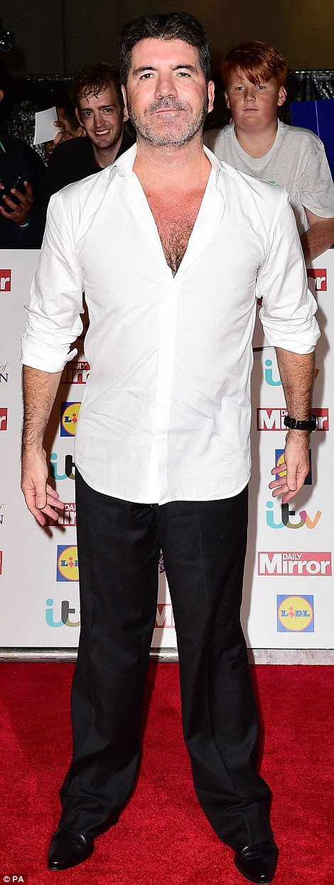 Simon Cowell at the Pride of Britain Awards