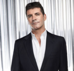 simon cowell at a Britain's Got Talent photo shoot