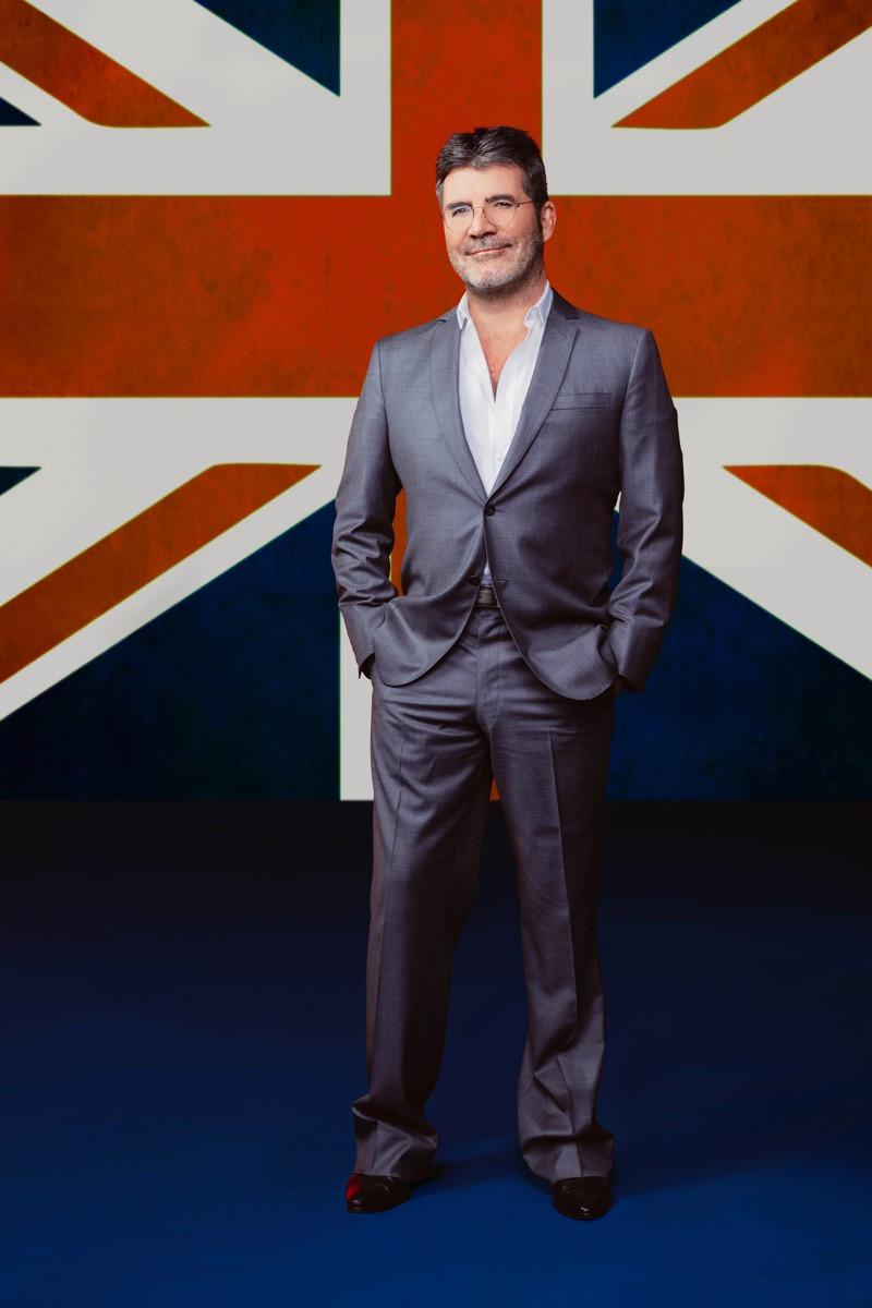 Simon Cowell Britain's Got Talent Promo Photo
