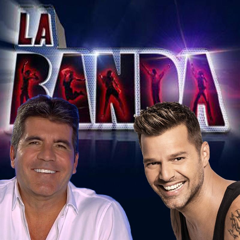 Simon Cowell and Ricky Martin - La Banda