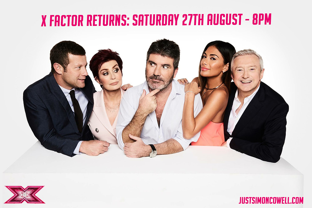 Simon Cowell and the X Factor Judges Promo Photo