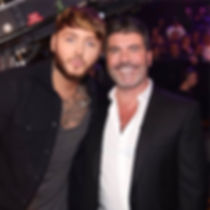 simon cowell and James Arthur, syco entertainment, website