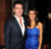 simon cowell with girlfriend Mezhgan Hussainy