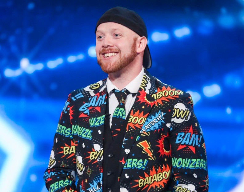 Ryan Tracey on Britain's Got Talent 2017