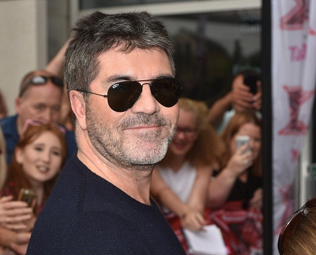 Simon Cowell at X Factor auditions in London
