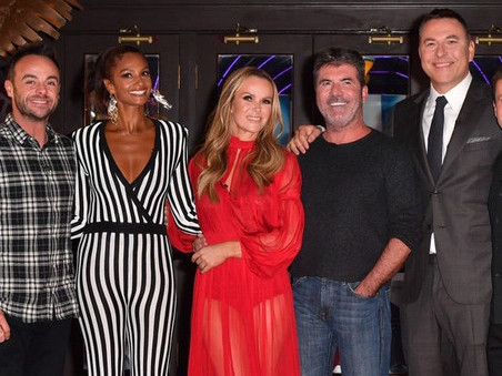 Simon Cowell and the BGT team meet up in Blackpool!