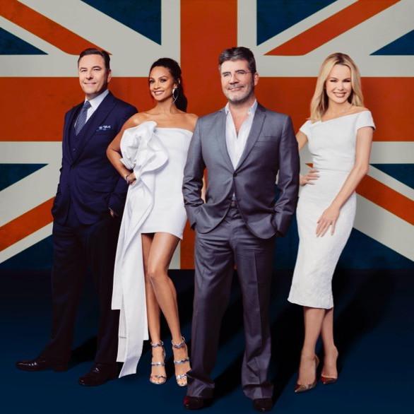 Simon Cowell, Amanda Holden, Alesha Dixon and David Walliams in the Britain's Got Talent promo pics