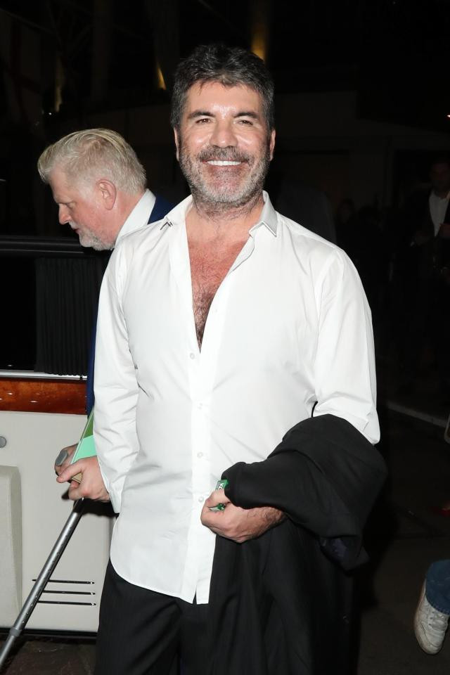 Simon Cowell at the Music Industry Trust Awards in London