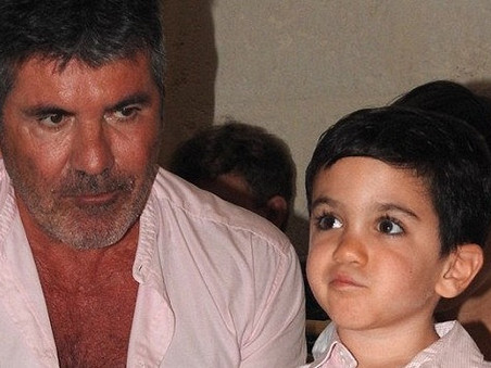 Simon Cowell supports the annual K9 Dog Charity in Barbados