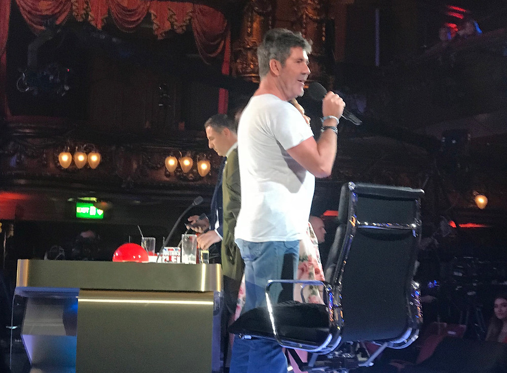 Simon Cowell at the Britain's Got Talent auditions in London. Photo credit justsimoncowell.com