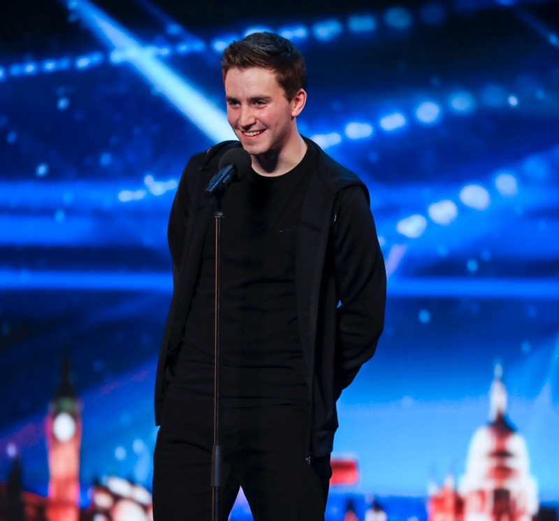 David Geaney on Britain's Got Talent 2017