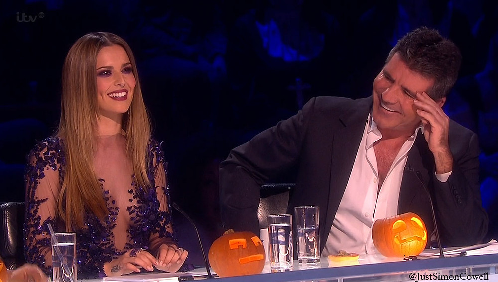 Simon Cowell and Cheryl