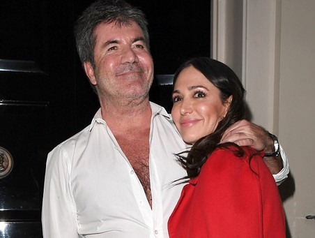 Simon Cowell and Lauren Silverman have a dinner date in London