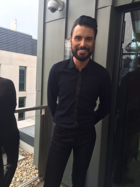 Rylan Clark-Neal at the X Factor launch party