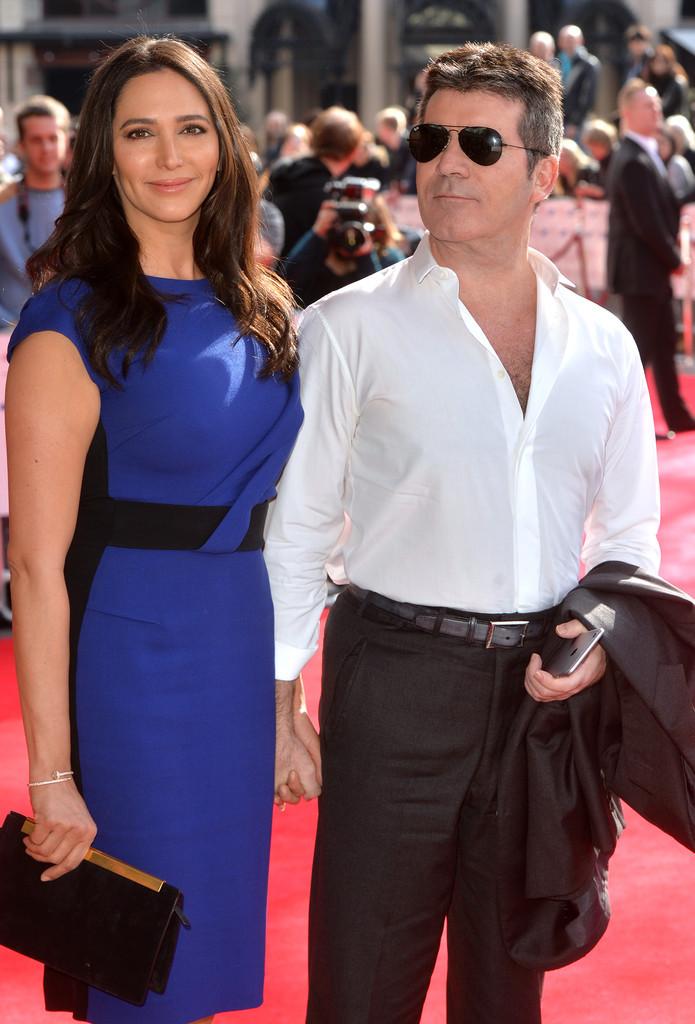 Simon Cowell & Lauren Silverman attend the Princes Trust Awards