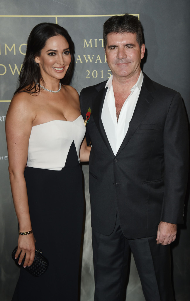 Simon Cowell & Lauren Silverman at the MITA