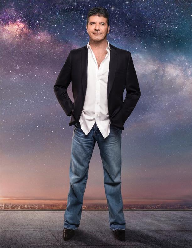 Simon Cowell X Factor promo