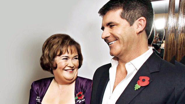 Simon Cowell with Susan Boyle