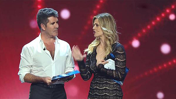 Simon Cowell at Italia's Got Talent Final