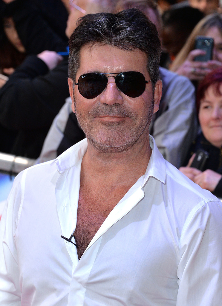 Simon Cowell at the Britain's Got Talent London auditions