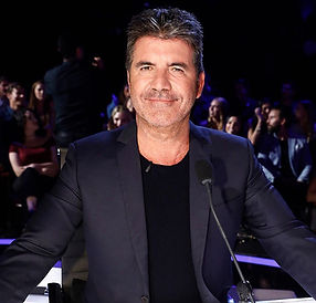 Simon Cowell dark and moody portrait photograph