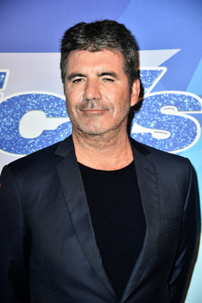 Simon Cowell on the red carpet at America's Got Talent