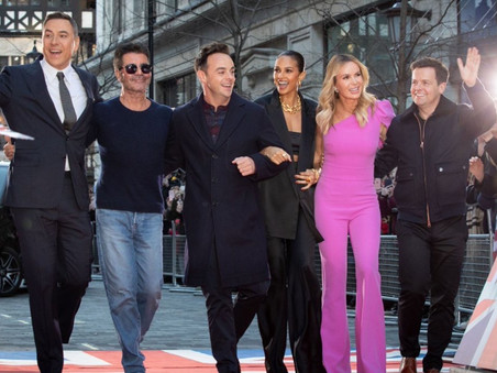 Britain's Got Talent arrives at the London Palladium