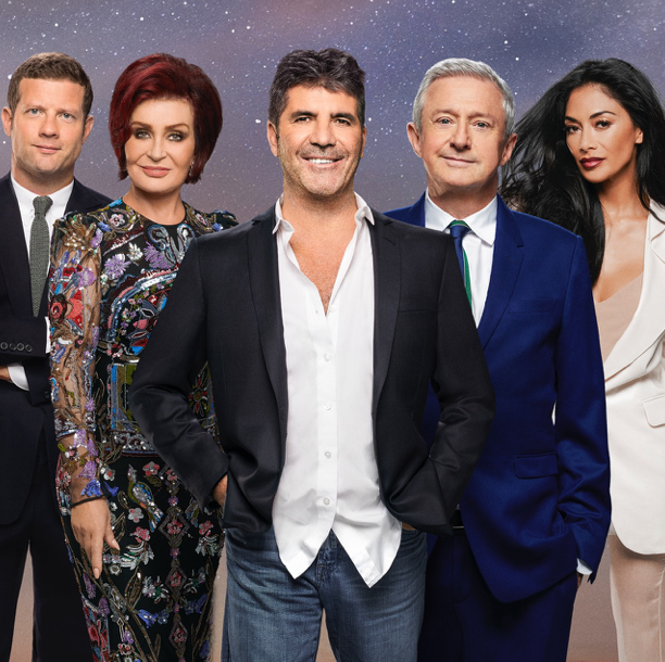 Simon Cowell and the X Factor judges 2017