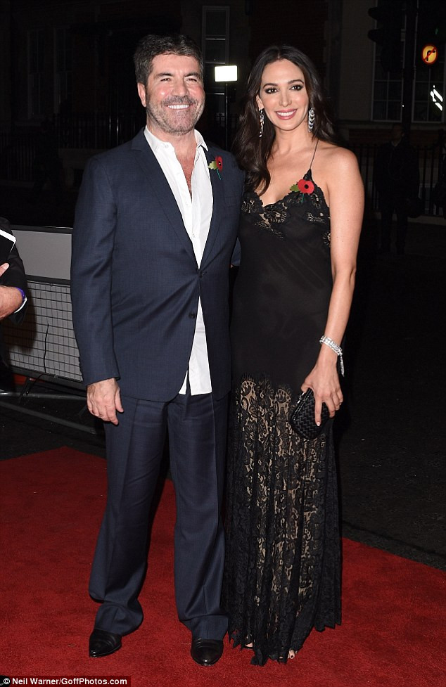 Simon Cowell and Lauren Silverman at Pride of Britain Awards