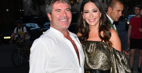 Simon Cowell & Lauren dine out with Robbie Williams and Ayda in Mayfair