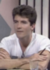 Simon Cowell as a young man
