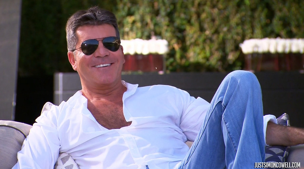 Simon Cowell at X Factor Judges House 2014