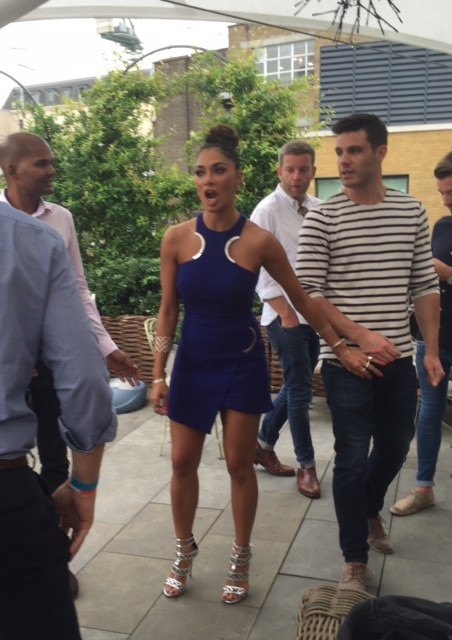 Nicole Scherzinger at the X Factor launch party