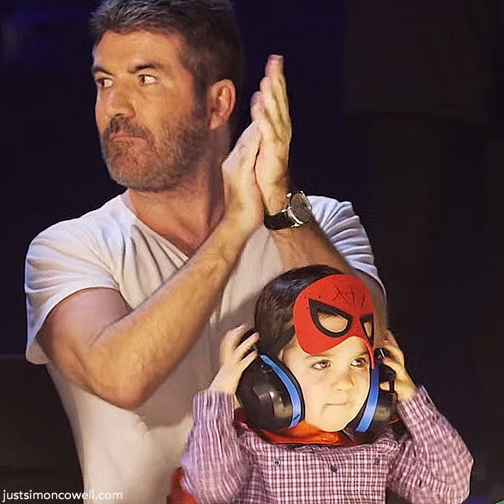 Simon Cowell with son Eric