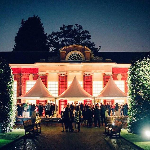 Syco Party held at the Orangery Kensington Palace