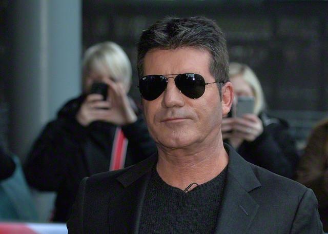 simon cowell at Britain's Got Talent Manchester