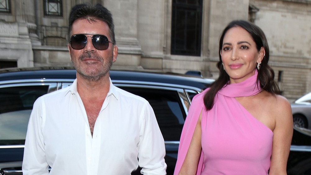 Simon Cowell and Lauren Silverman arrive at the Syco Summer Ball