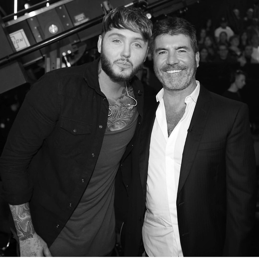 Simon Cowell with James Arthur - Syco Music
