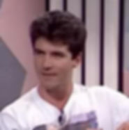 simon cowell as a young man on his first television appearance